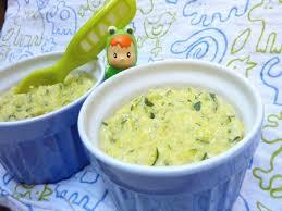 cuisiner pour bebe recette polenta à la courgette pour bébé cuisinez polenta à la