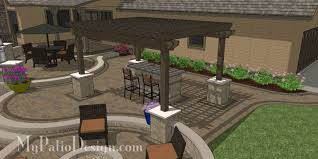 Outdoor Patio Design Curvy Terraced Patio Design Creates Fabulous Outdoor Living Space