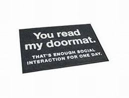 funny doormats for your house