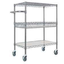 3 Tier Shelving Unit by Storage Cabinets U0026 Shelving Units Costco