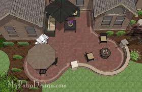 6 patio designs for courtyards or u shaped homes u2013 mypatiodesign com