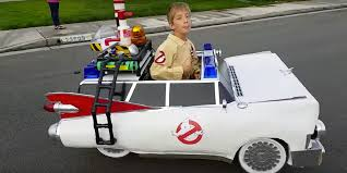 Ghostbusters Halloween Costume Dad Son Craft Amazing U0027ghostbusters U0027 Ecto 1 Costume
