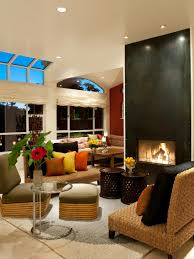and an open floor plan luxury home country design craftsman room