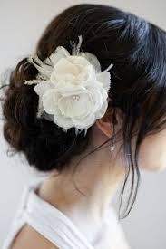 hair flower flower in your hair weddingbee