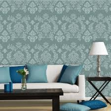 Damask Wall Decor Large Wall Damask Stencils Danielle Reusable Allover Pattern For