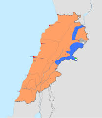 Lebanon On World Map by Syrian Civil War Spillover In Lebanon Wikipedia