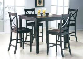 counter height table with chairs black counter height table set dining pub cvid