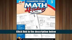free download common core math 4 today grade 3 daily skill