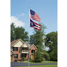 Flags And Flagpoles Flag Pole 13 Ft With 3 Ft X 5 Ft Flag From Sporty U0027s Tool Shop