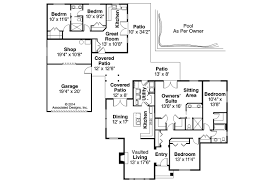 detached guest house plans ranch house plans darrington 30 941 associated designs
