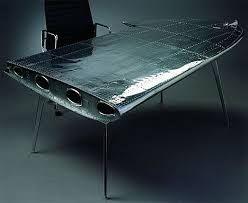 Awesome Office Desk An Airplane Wing For A Desk Now That Is Cool Although My
