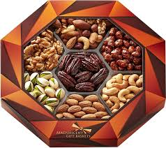 fruit and nut gift baskets magnificent gift baskets gourmet food nuts gift basket 7