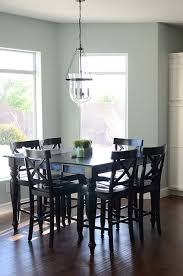 dining room paint ideas i really like the paint color great contrast with table paint