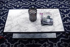 Diy Marble Coffee Table by Diy Faux Marble Coffee Table Makeover Tutorial Arts And Classy