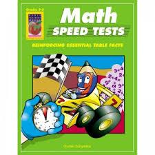 math speed tests gr 1 3