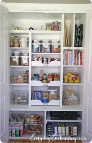 Kitchen Closet Shelving Ideas Pantry Closet Organizers Best 25 Organization Ideas On Pinterest