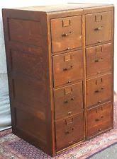 Antique Oak File Cabinet Oak American Antique File Cabinets Ebay