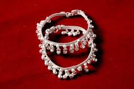 baby silver vala anklet silver jewelry ornaments desil