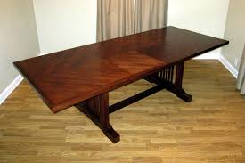 Make A Dining Room Table How To Build A Dining Room Table With Leaves 14248