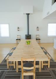 Ikea Boardroom Table Ikea Conference Table Dining Room Scandinavian With Area Rug
