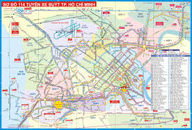 gt cus map ho chi minh tourist map ho chi minh mappery