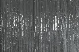 Silver Foil Curtains Bold Idea Foil Curtains Metallic Door Curtain Silver The
