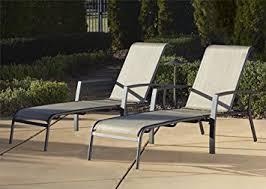 Garden Ridge Patio Furniture Amazon Com Cosco Outdoor Adjustable Aluminum Chaise Lounge Chair
