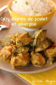 cuisiner l aubergine un curry express au poulet et aubergine en 15 minutes chrono