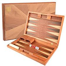 wood inlay christopher wood backgammon set 18 inch suitcase