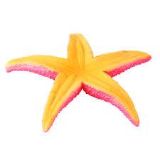 11cm 12cm saim aquarium rubber starfish ornaments acuarios