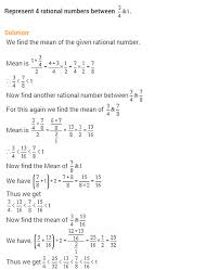 rational numbers ncert extra questions for class 8 maths