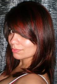home design shades of red hair with highlights fence staircase