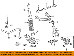 toyota tacoma suspension toyota oem 01 04 tacoma front suspension shock absorber 48510a9080