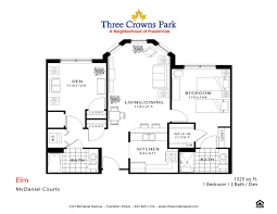 mcdaniel courts floor plans three crowns park evanston il
