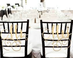 wedding chair signs etsy