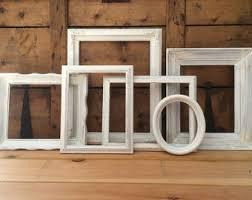 gray frames shabby chic frame set five frames gallery