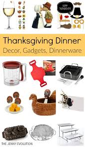 thanksgiving dinner items supplies table decor gadgets