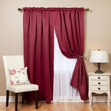 Pink And Purple Curtains Aurora Home Mix And Match Blackout Blackout Curtains Panel Set 4