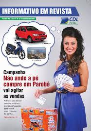 informativo em revista by ivonete de parobé issuu