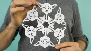 star wars paper snowflakes youtube