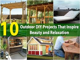 10 outdoor diy projects that inspire beauty and relaxation diy
