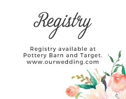 how many wedding registries customizable wedding registry cards by basic invite