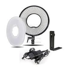 ring light for video camera shopotam 300 led ring lighting light video film continuous light