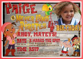 jake and the neverland pirates birthday invites sweet leigh mama atlanta mommy blog new custom jake and the