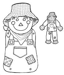 parts of the body coloring pages for preschool cute scarecrow coloring pages getcoloringpages com