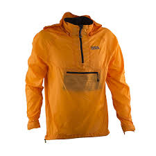 packable waterproof cycling jacket amazon com race face nano packable jacket orange small