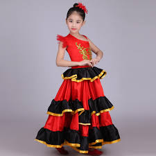 flamenco skirt 360 540 720 spanish senorita flamenco dancer fancy