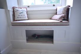 window bench for dog hall bench dog bed r f construction