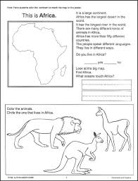 13 best images of ocean worksheets for 3rd grade 7 continents