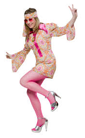 Flower Power Halloween Costume Dress Flower Power Love 70er Costume Karnevalswierts